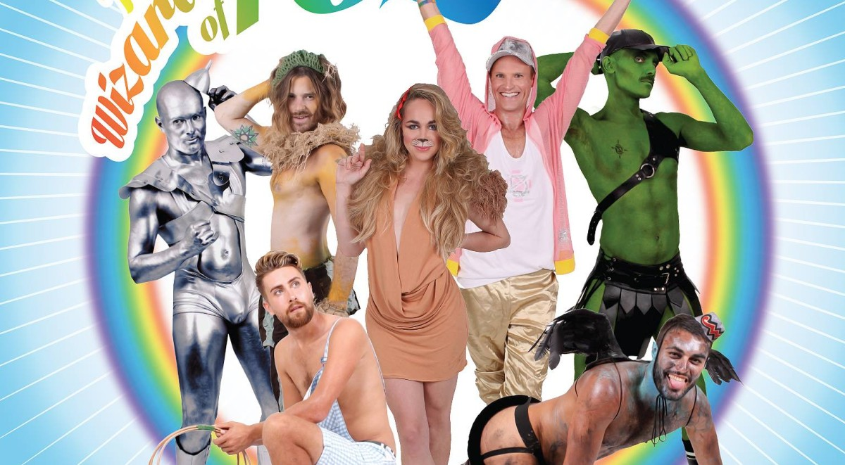Wizards of Poz looks back to some pop cultural icons and re-imagine them as just a few of the contemporary tropes of the gay and poz community.